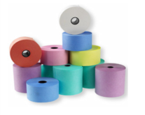 Coloured Laundry Rolls